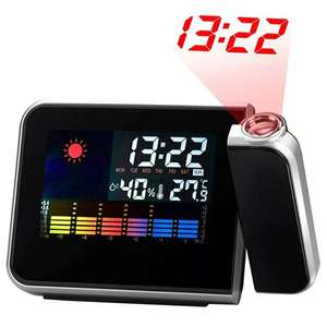 Stacja Pogodowa Weather Forecast Electronic Alarm Clock
