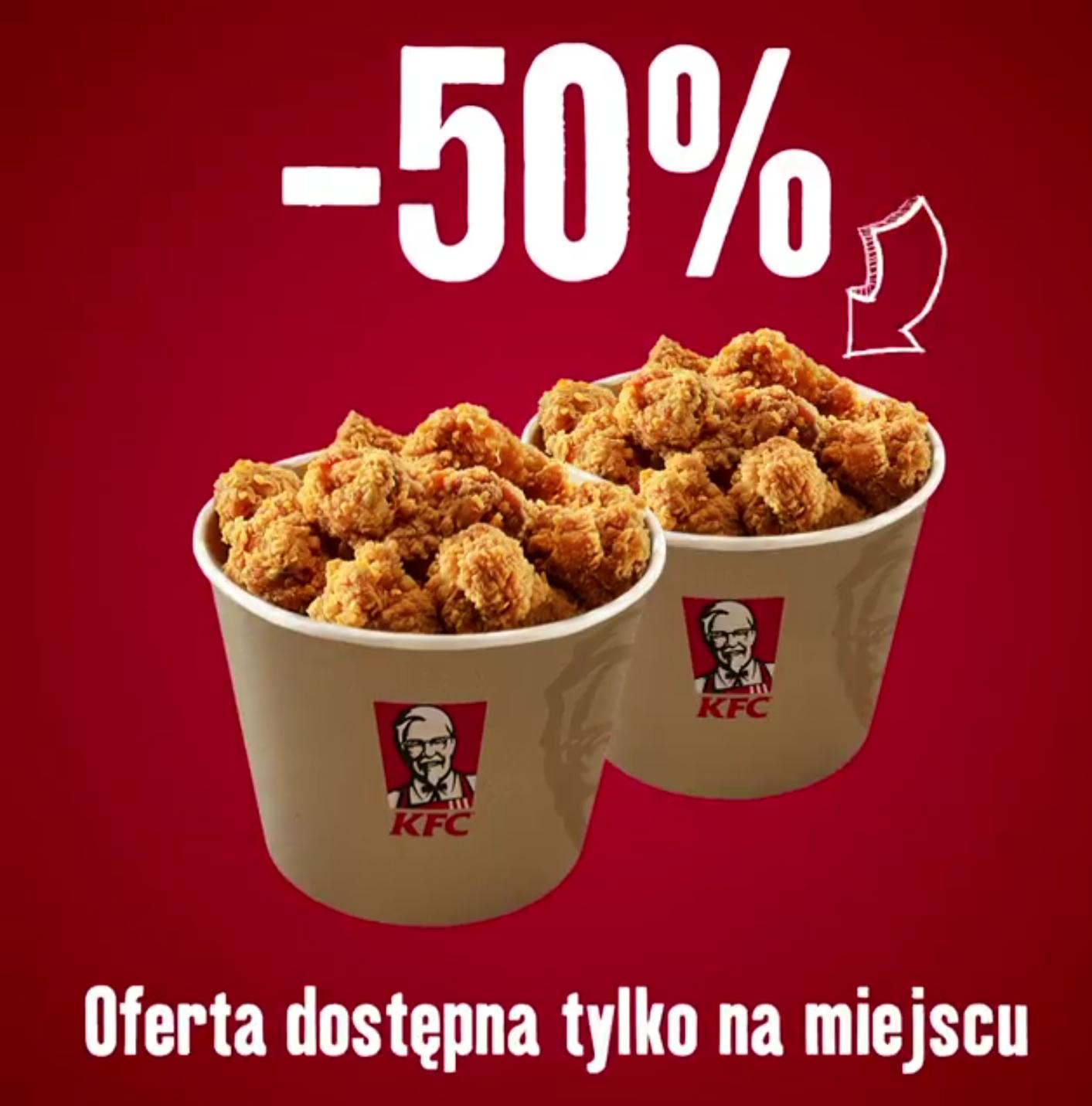 Drugi kubełek -50% !! @ KFC