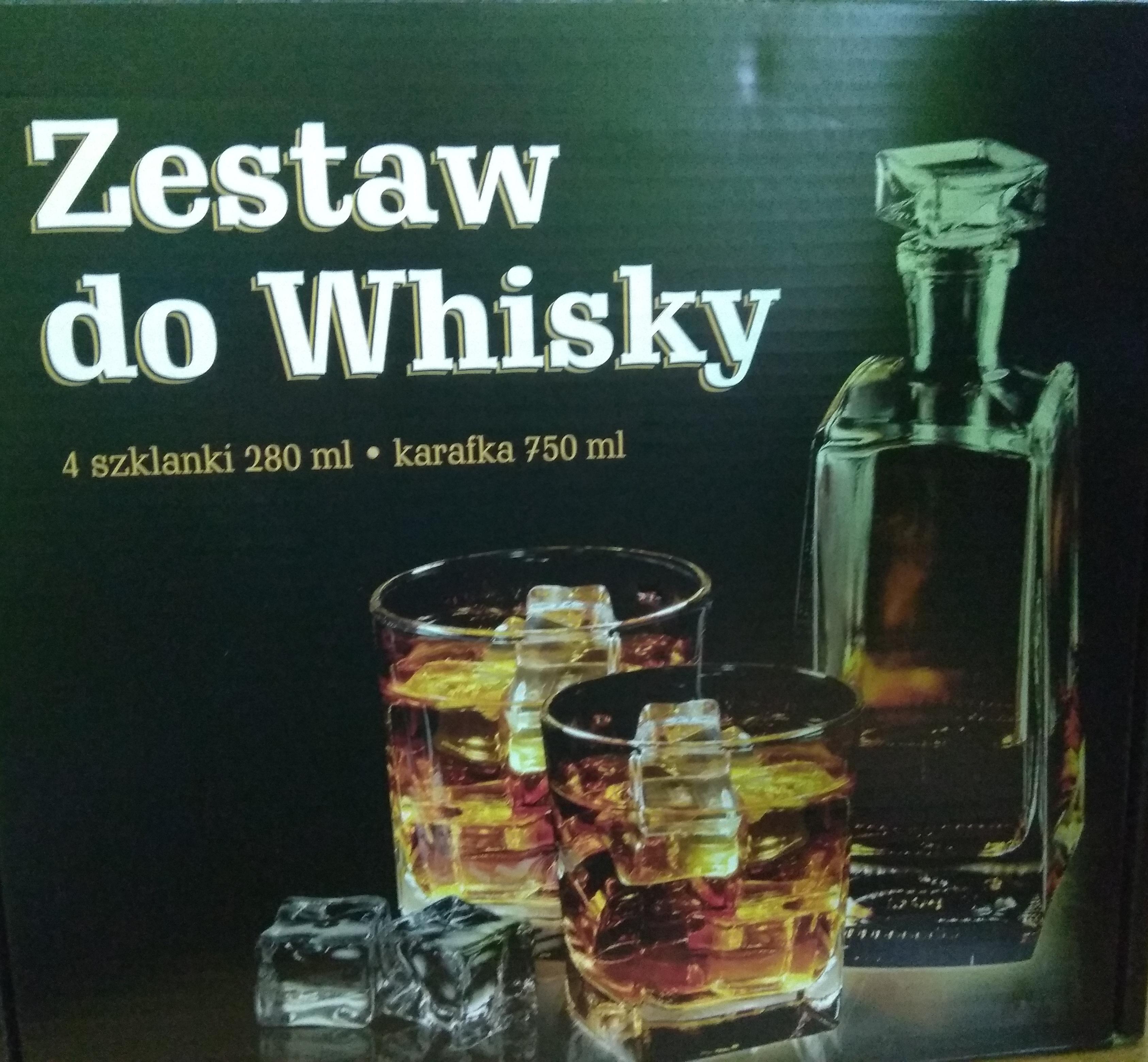 Zestaw do whisky Pepco