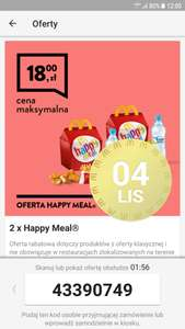 Mc Donald's - 2x Happy Meal