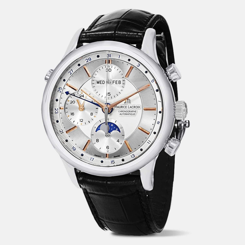 Zegarek Maurice Lacroix Les Classiques Phases de Lune dwa kolory | Massdrop