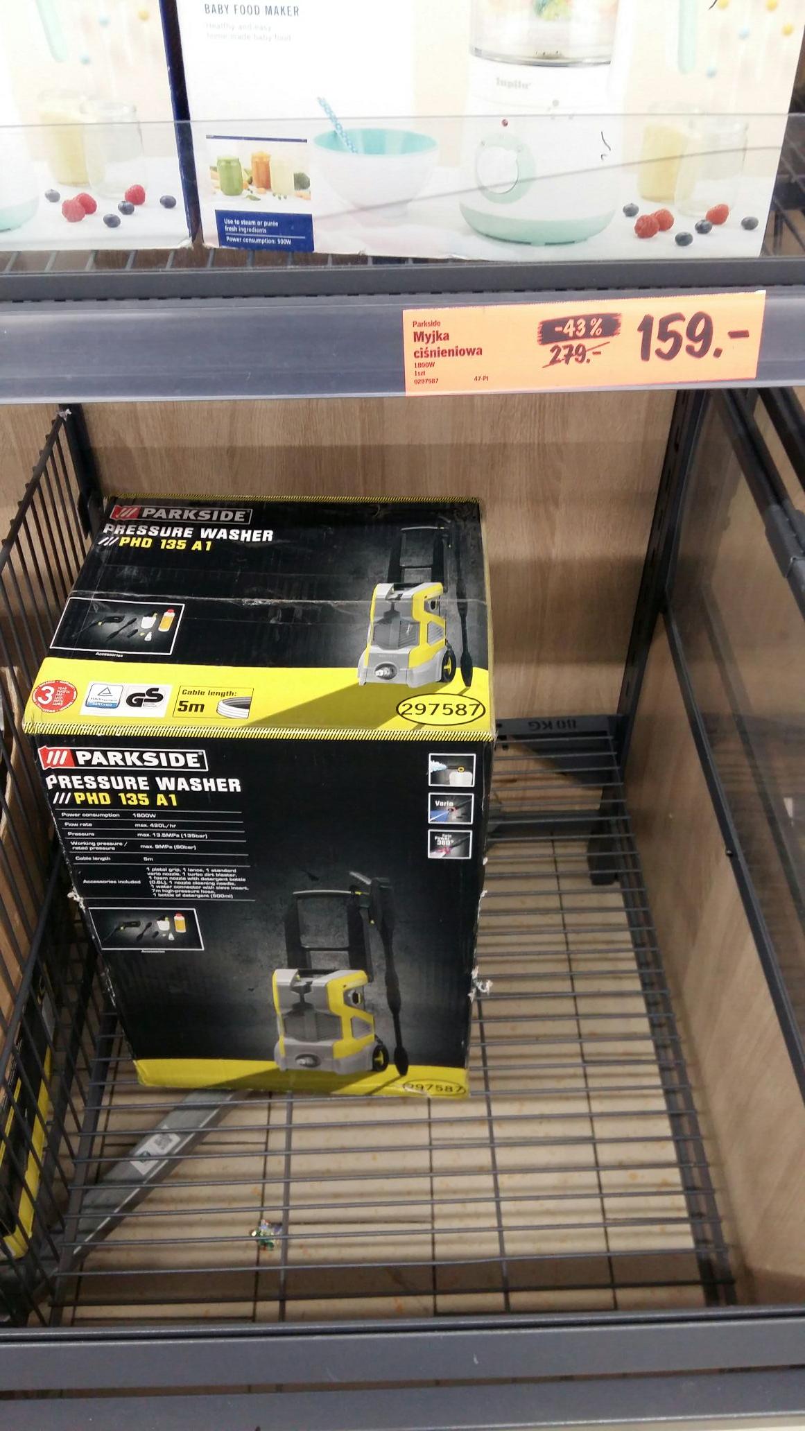 Myjka ciśnieniowa Parkside PHD 135 A1 Lidl