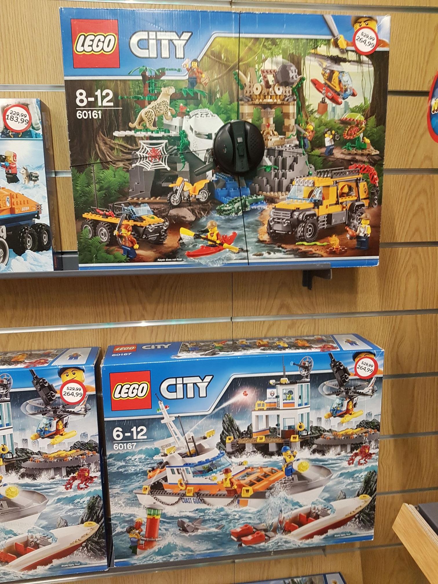 Duży zestaw lego 60161 W bardzo dobrej cenie