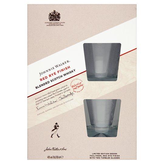 Whisky Johnnie Walker Red Rye Finish + 2 szklanki w Polomarket