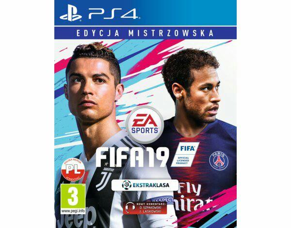 Fifa 19 + CHAMPIONS EDITION PS4 i Xbox One