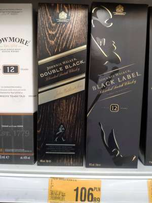 Whisky Johnny Walker Double Black 0.7L