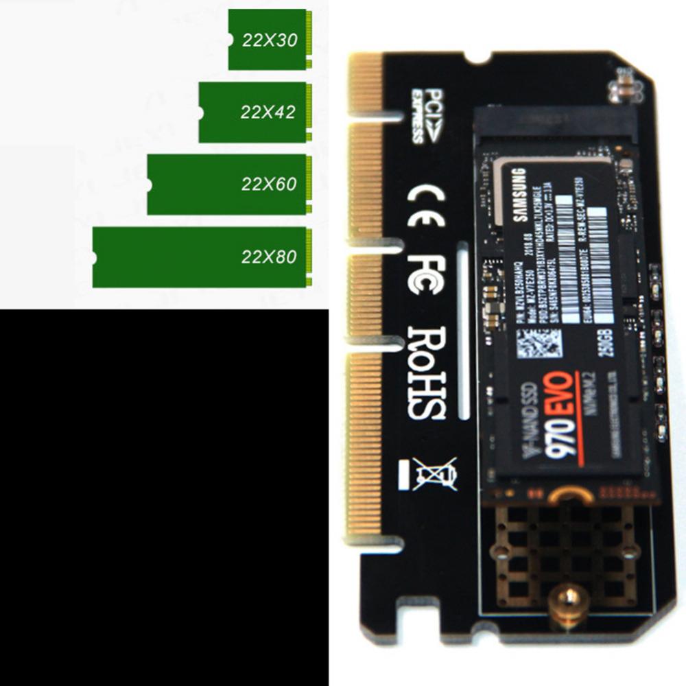 Adapter dysku M.2 NVMe do PCIe 3.0 x16, $2,77