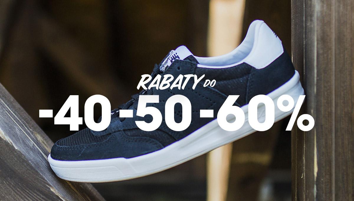 Wyprzedaż do -60% w outlecie New Balance - buty sneakersy