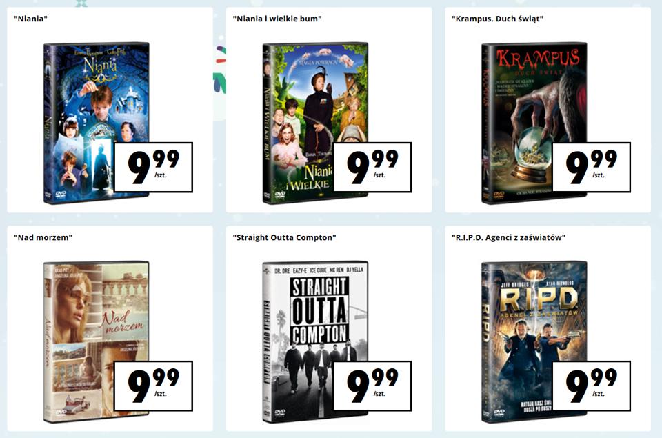 Filmy DVD w Biedronce od 21 stycznia @ Biedronka