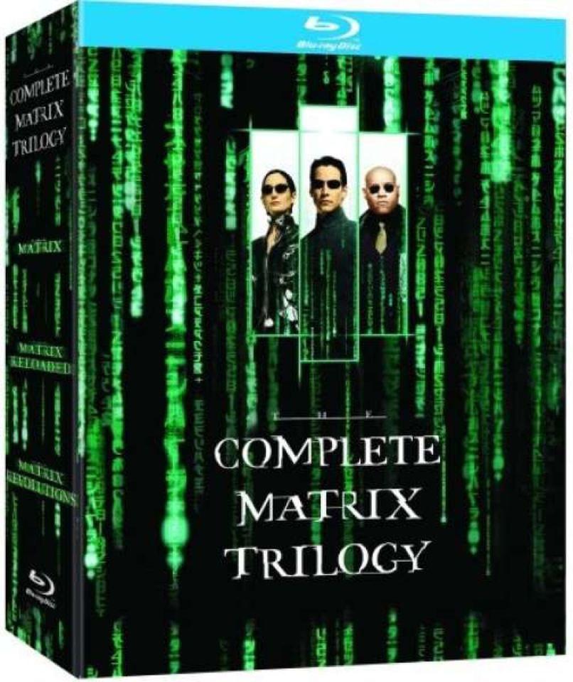 Matrix: Trylogia (1-3) Blu-Ray za ok. 55 zł @ Zavvi