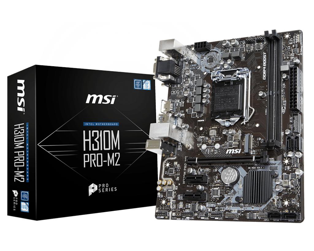 Płyta główna MSI H310M PRO-M2 LGA1151 mATX