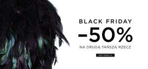 [Black Friday] -50% na drugi produkt @ Mohito
