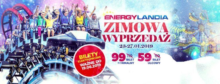 Energylandia - zimowa wyprzedaż