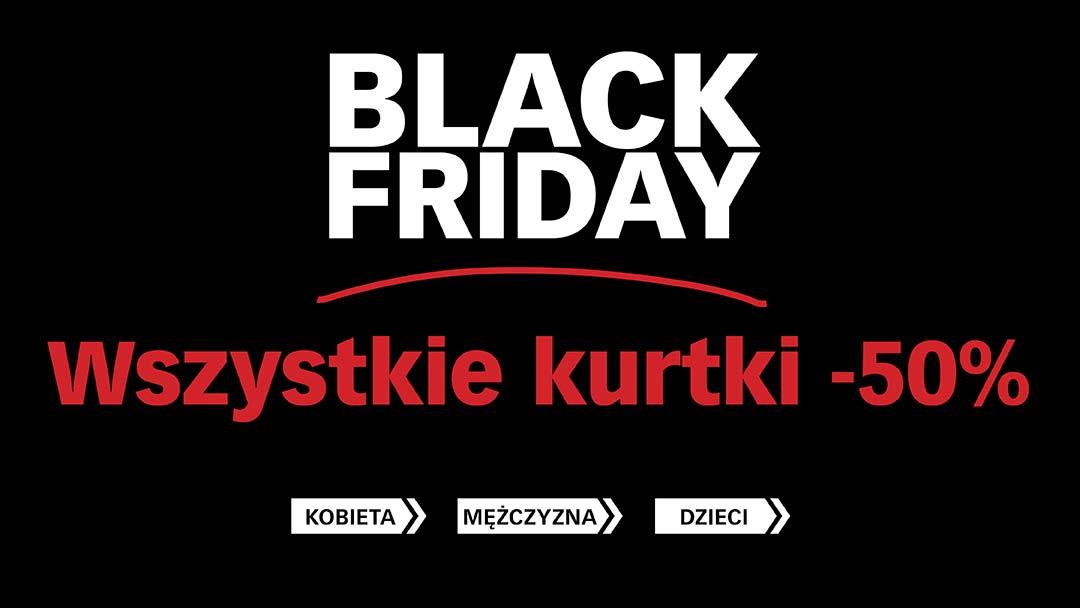 [Black Friday] Wszystkie kurtki 50% taniej! @ Cubus
