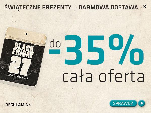 [Black Friday] Do 35% zniżki na nieprzecenione produkty @ Matras