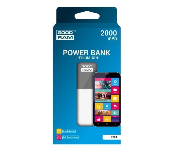 Powerbank Goodram 2000 mah 50% taniej od oleole