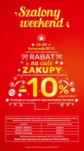 Szalony weekend w Carrefour