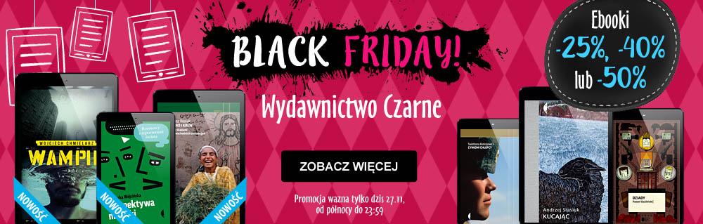 [Black Friday] Wydawnictwo Czarne do 50% taniej! @ Virtualo