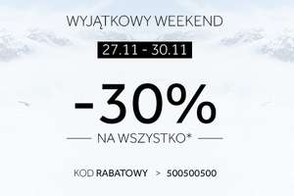 [Black Friday] 30% rabatu na kolekcję jezień/zima 2015 @ 4F