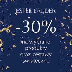 30% rabatu na zestawy prezentowe i świąteczne @ Estee Lauder