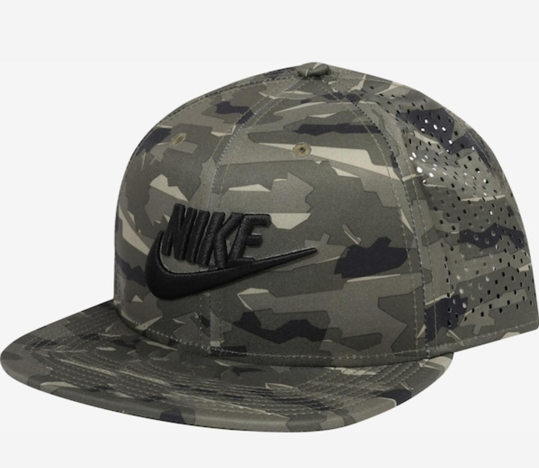 Nike czapka snapback z daszkiem moro