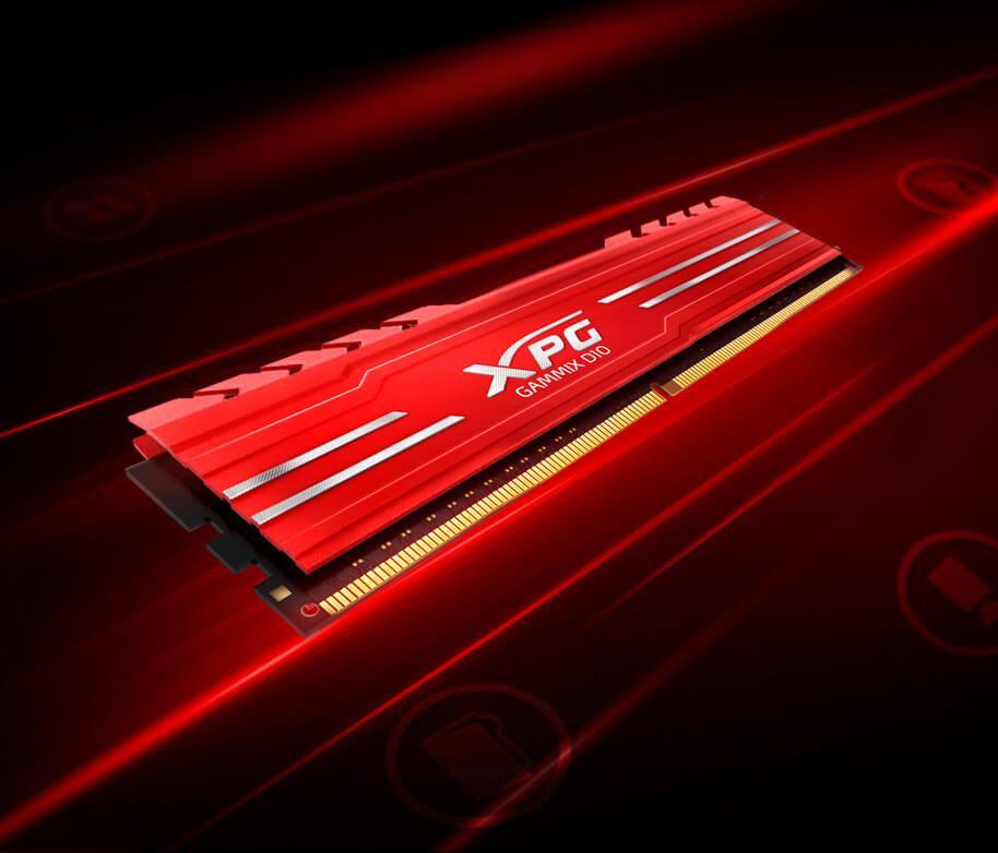 RAM ADATA XPG GAMMIX D10, DDR4, 16GB,3000MHz, CL16 2x8GB