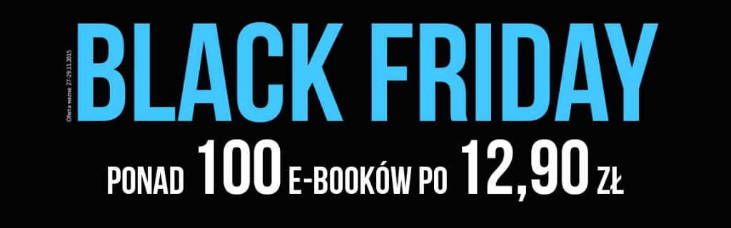 [Black Friday] Ponad 100 e-booków po 12,90zł @ Woblink