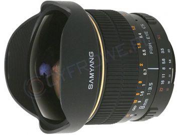 Obiektyw Samyang 8 mm f/3.5 UMC Fish-eye / Samsung NX za 549,50zł (50% taniej!) @ Cyfrowe.pl
