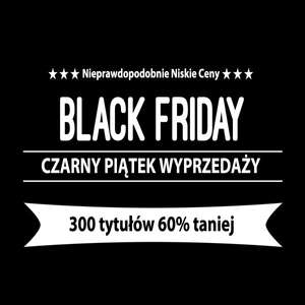 [Black Friday] 300 tytułów 60% taniej @ Muza