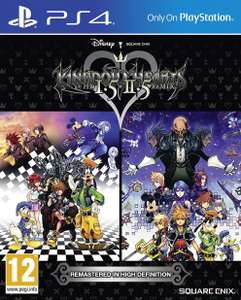 Kingdom Hearts HD 1.5 and 2.5 Remix (PS4) za 109,90zł + wysyłka @ Ultima