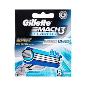 Gillette Mach 3 Turbo - 5 szt.