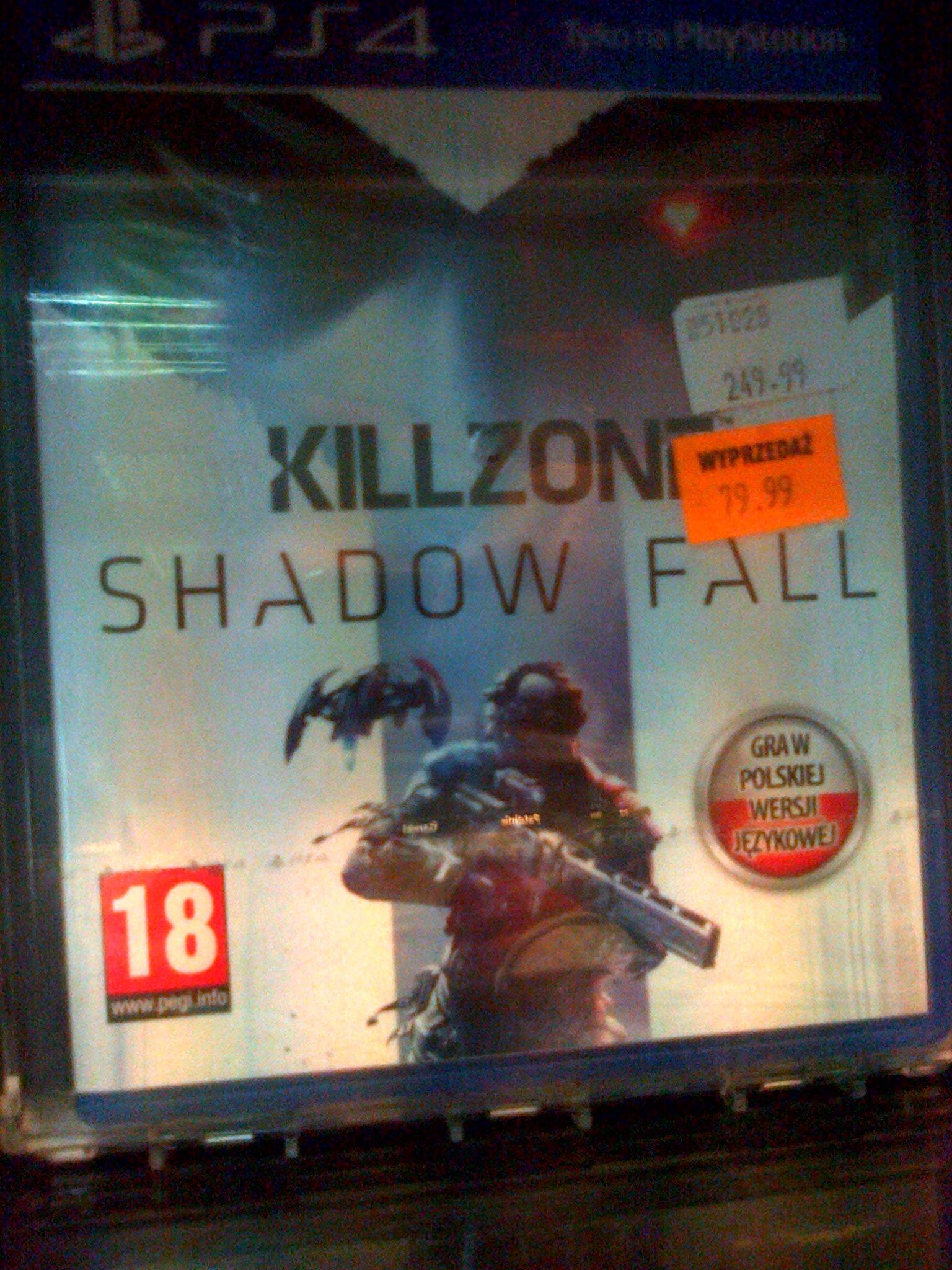 Killzone Shadow Fall PS$ za 79,99 zł @ Avans