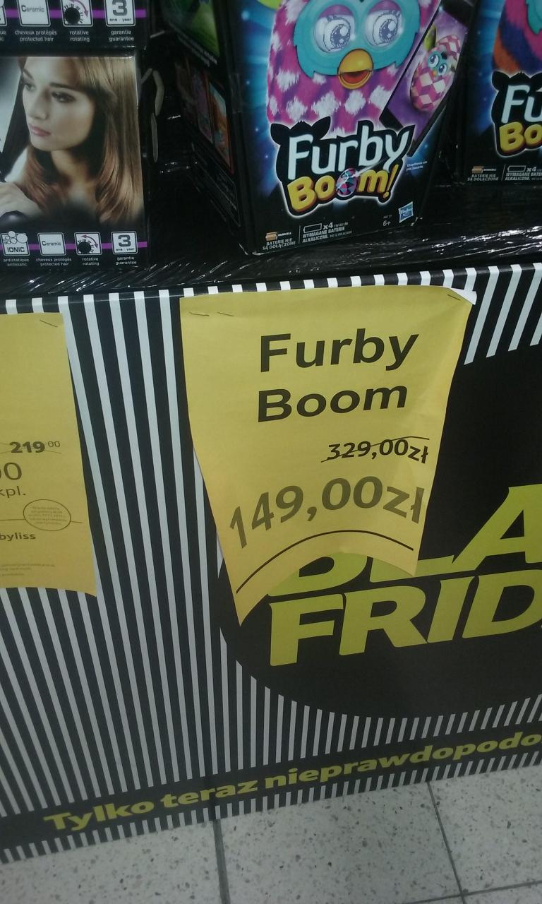Furby boom za 149zł @ Tesco