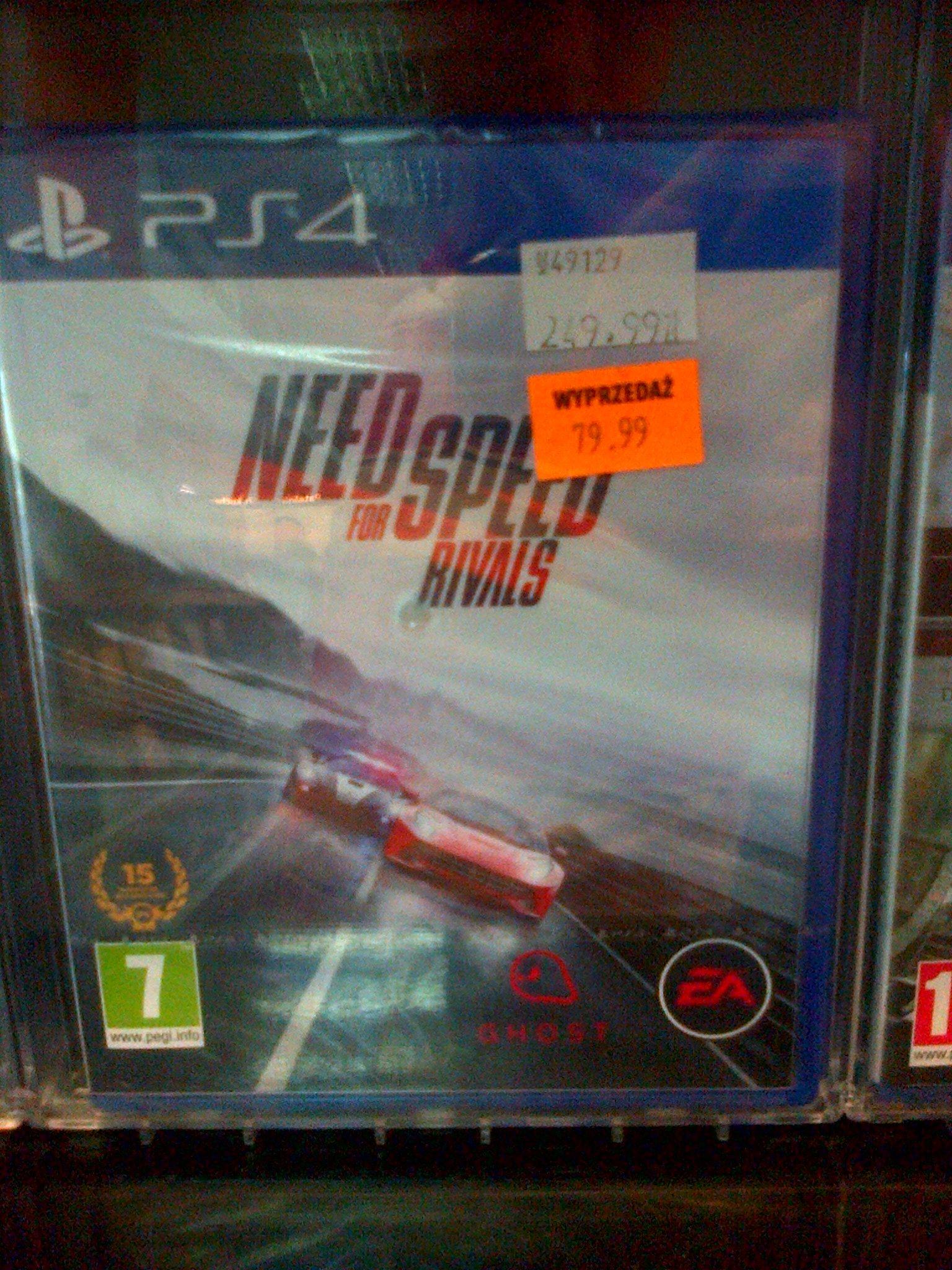 Need 4 Speed Rivals PS4 za 79,99 zł @ Avans