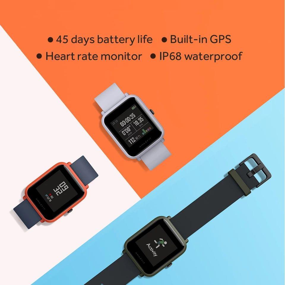 smartwatch Amazfit Bip czarny z wysyłką z Polski