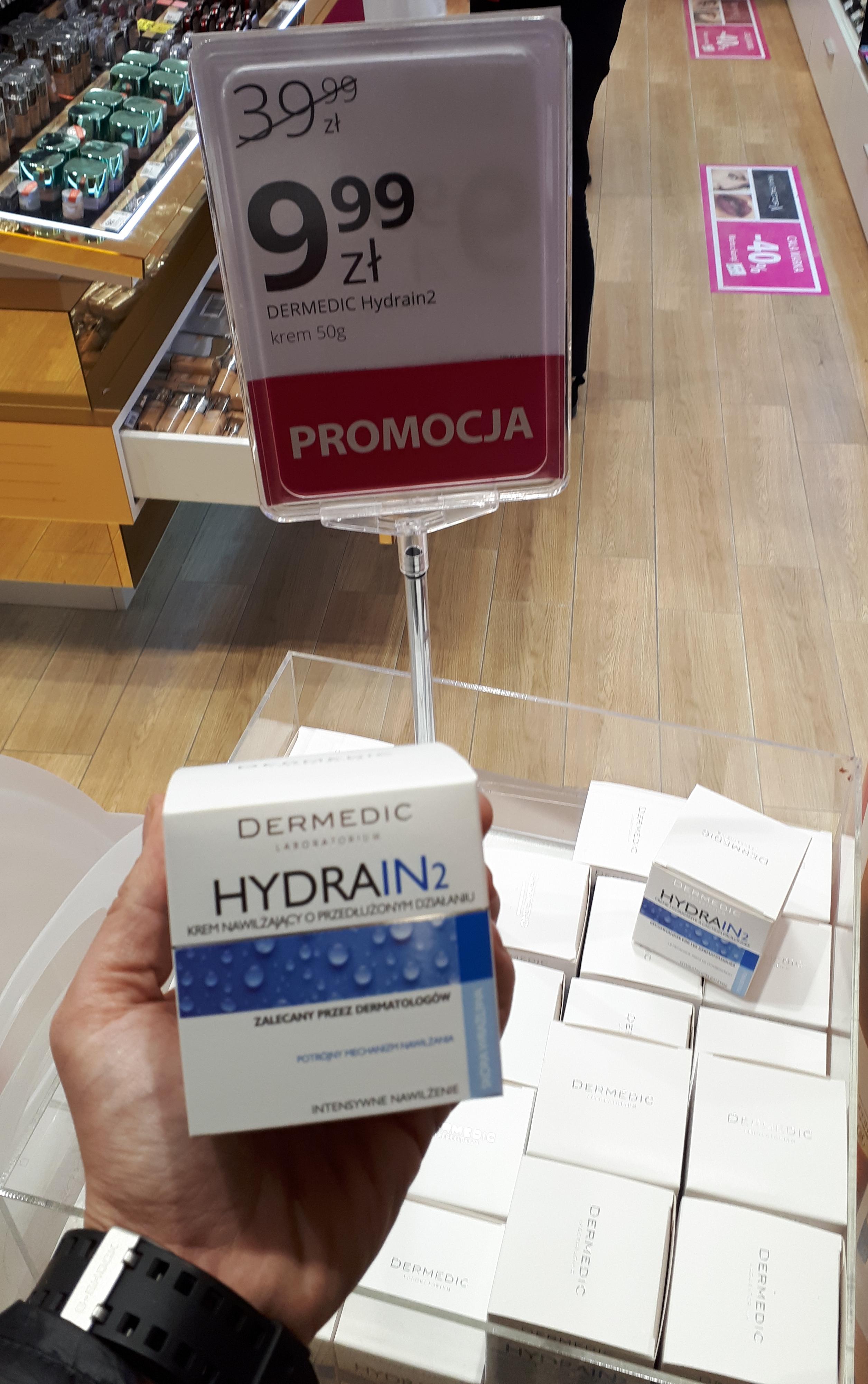 Krem Dermedic Hydrain2 nawilżający do twarzy | HEBE