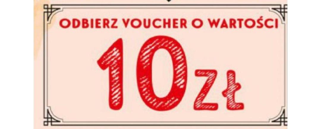 Voucher 10zl za każde wydane 40zl na tekstylia i przemysłowe, biedronka