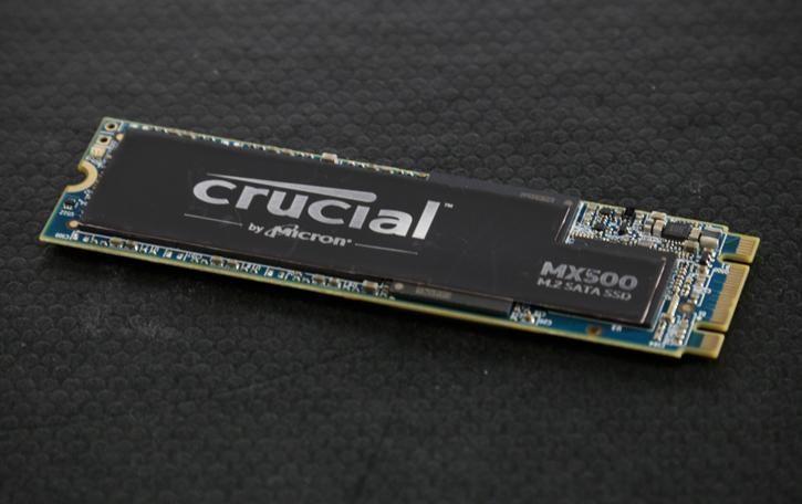 Crucial MX500 500GB SATA M.2 Konkurent EVO 860