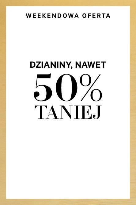 Weekendowa oferta - do 50% taniej @ H&M