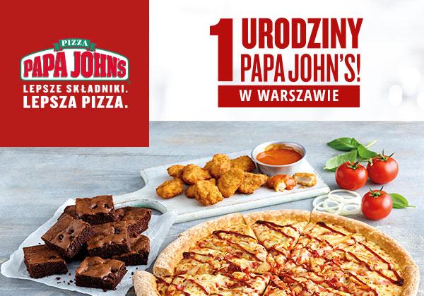 -40% na wszystko Papa John's Pizza Warszawa