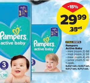 Pampers Active Baby w Netto
