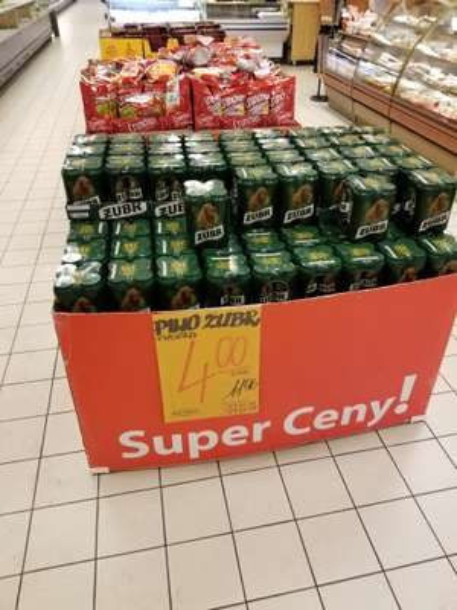 Żubr puszka 4x500 ml PiP Poznań