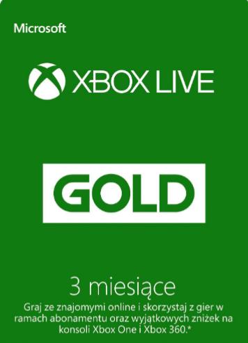 Xbox live gold 3 miesiące Global G2A