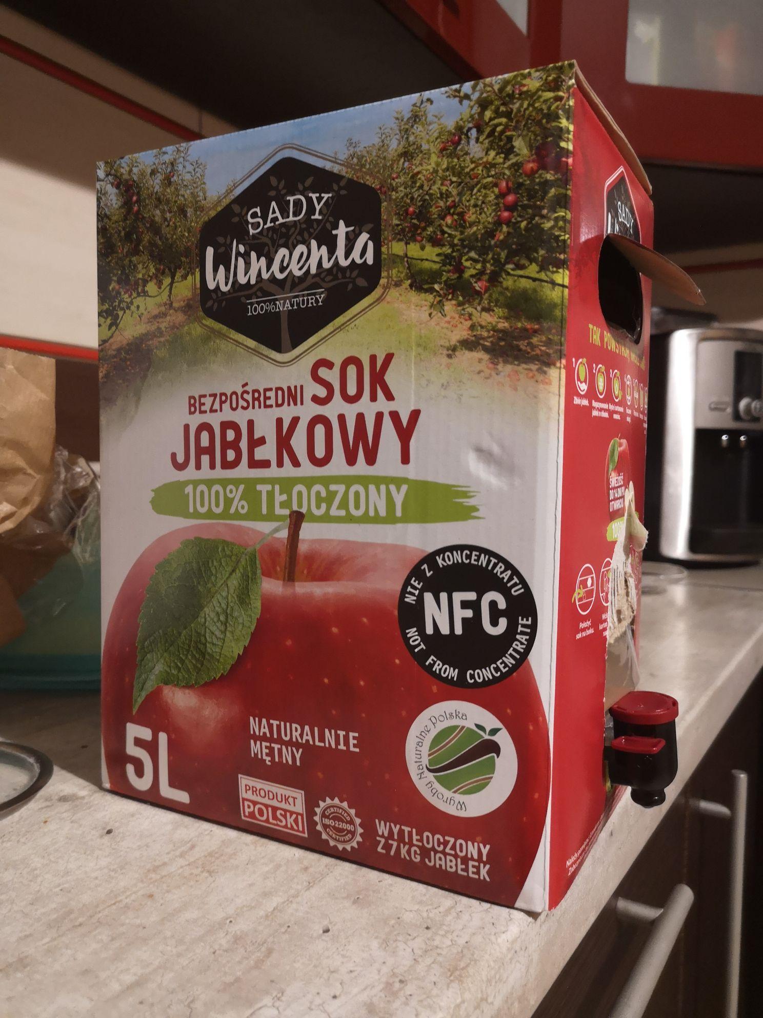 Sok jabłkowy 100% tłoczony 5L - możliwe inne smaki - KAUFLAND