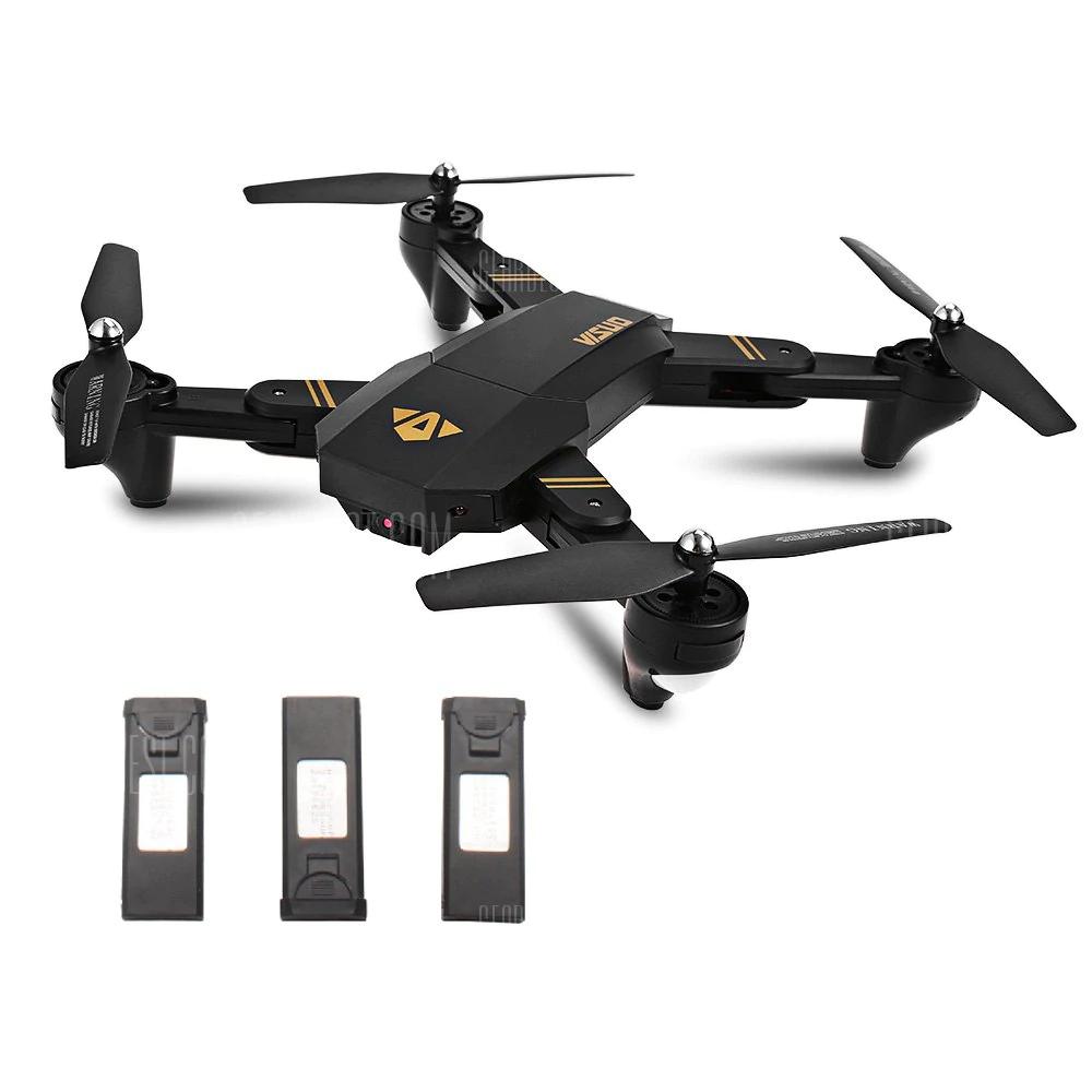 Dron TIANQU XS809W z trzema bateriami z Polskiego Magazynu