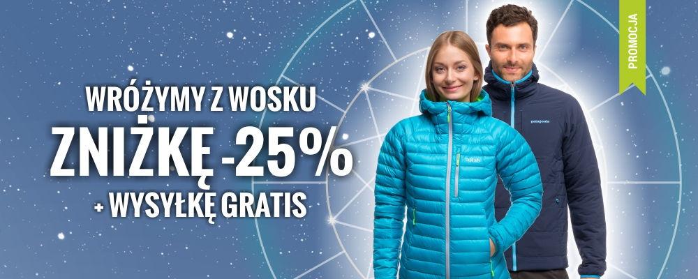 25% zniżki + darmowa wysyłka @ Skalnik