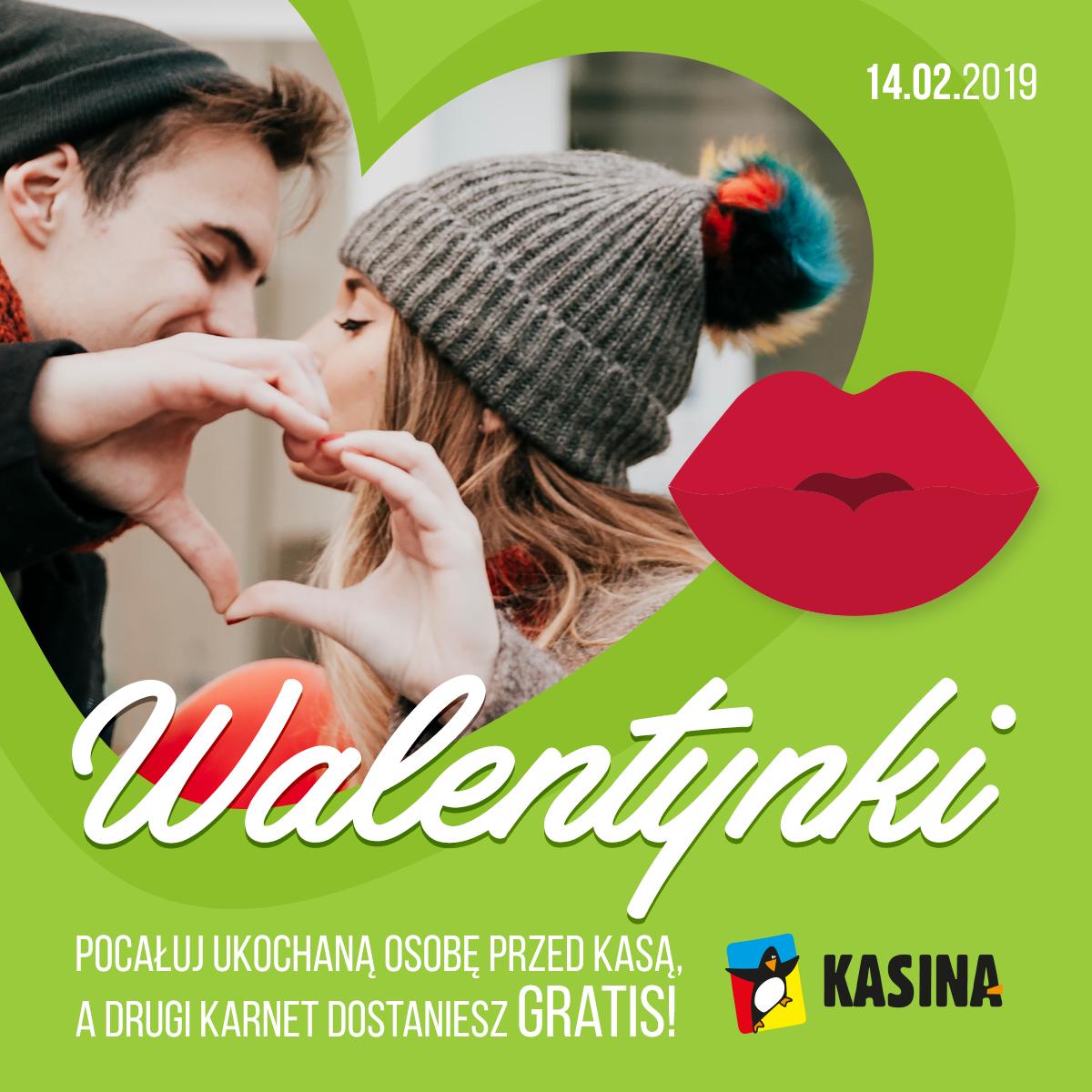Karnet gratis za całusa czyli Walentynki na stoku w Kasinie dla Pepperowiczów! [Kasina Ski] 14.02.2019