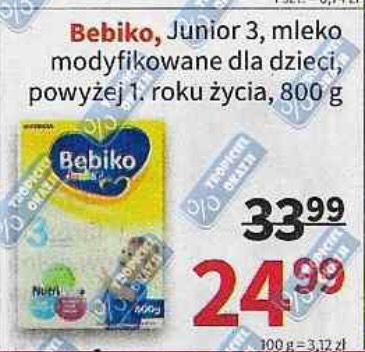 Mleko Bebiko Junior 3 800g