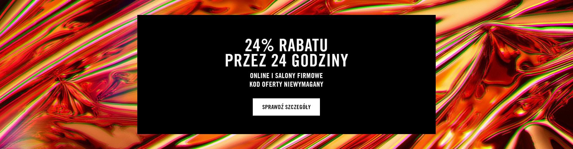 24% RABATU PRZEZ 24 GODZINY @ MAC Cosmetics