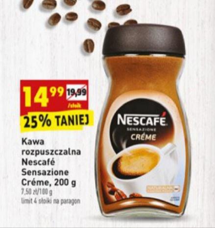 Kawa rozpuszczalna Neacafe Creme @ Biedronka